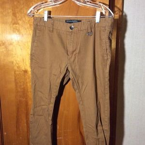Billabong Skinny Flex Dress Pants